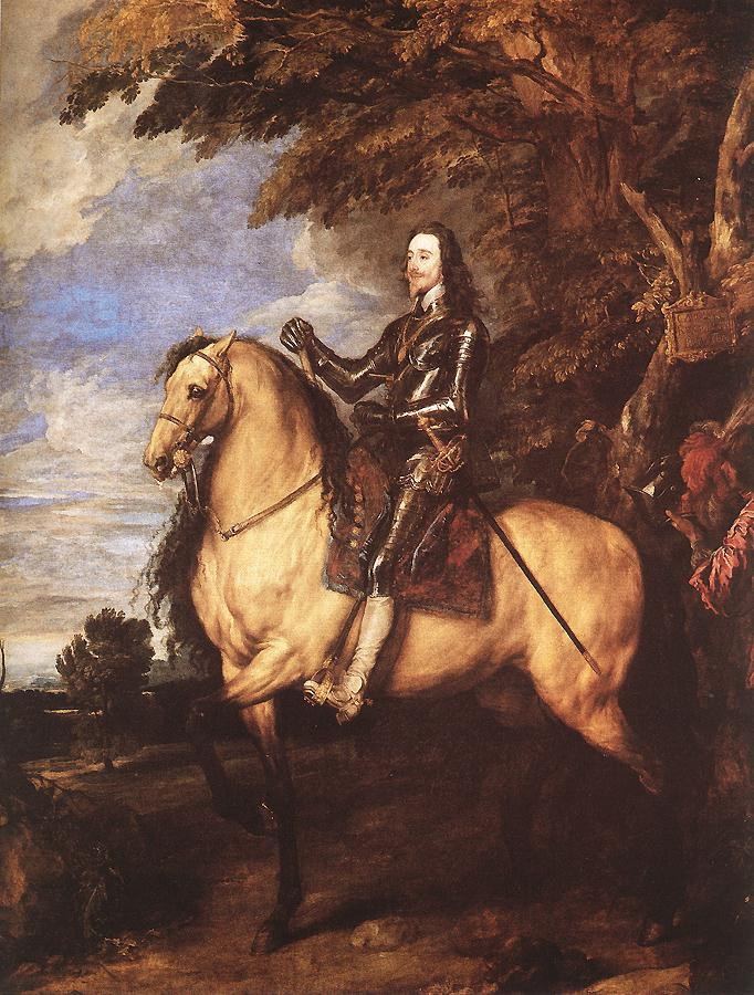 Anthony van Dyck - Charles I on Horsebac