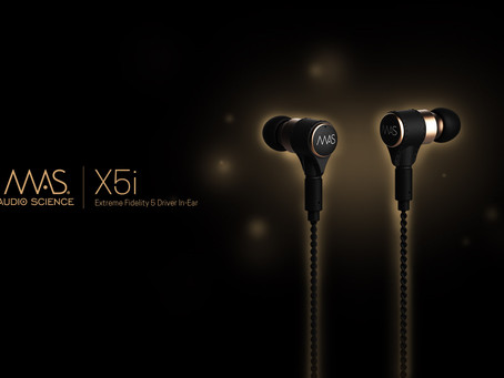 New MAS X5 Series High-End Headphones and MAS XX Accessories