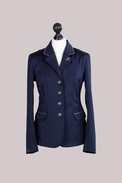 Jacket dunkelblau strass
