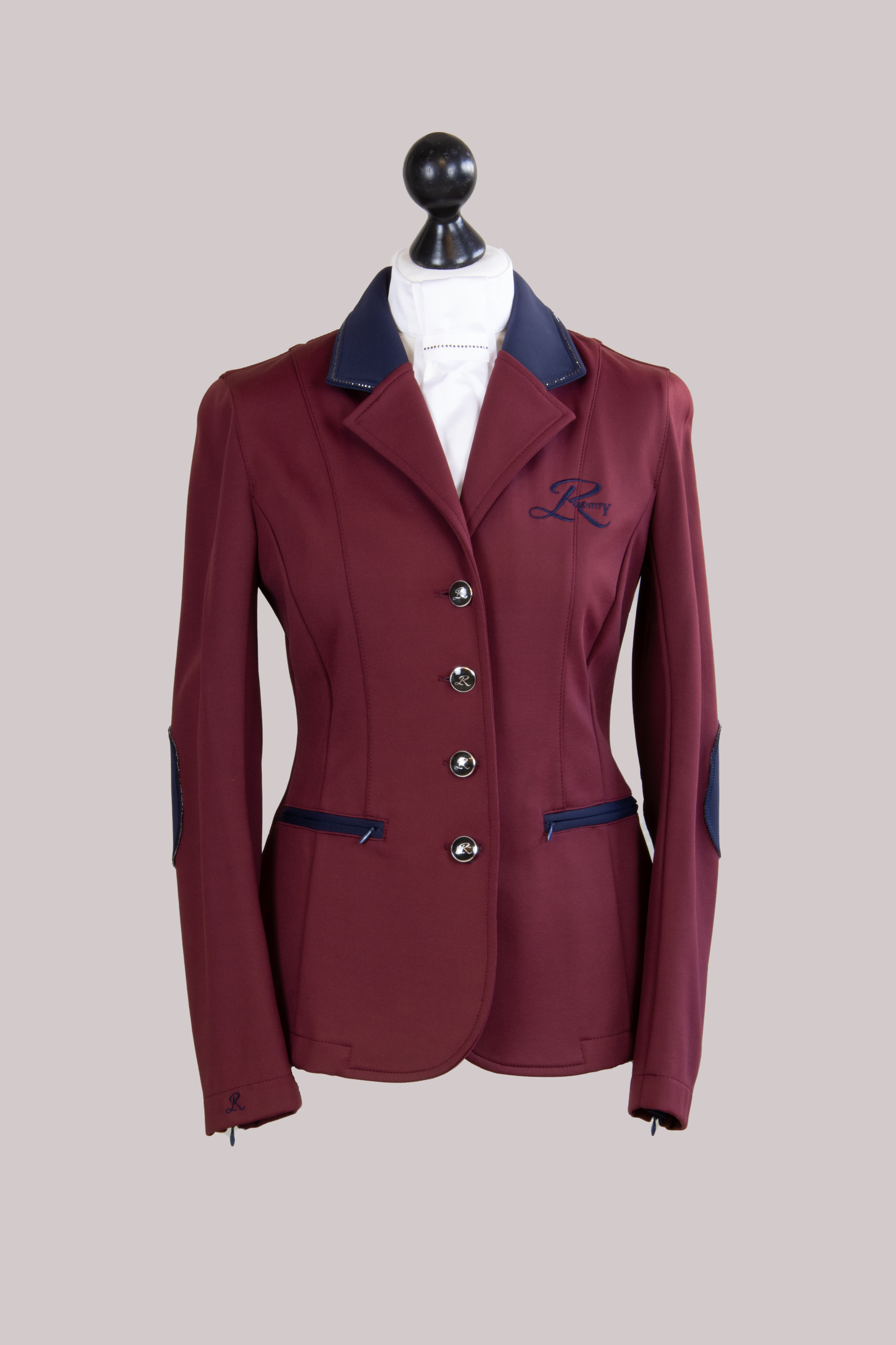 jacket bordeaux vorne