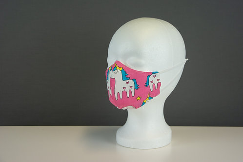 Mund- und Nasenmasken anatomisch (Kinder)