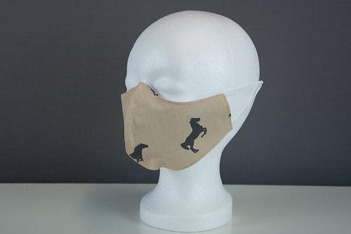 Mund- und Nasenmasken mit anatomisch (Damen)