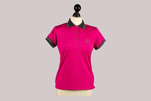 Atmungsaktives Poloshirt Damen