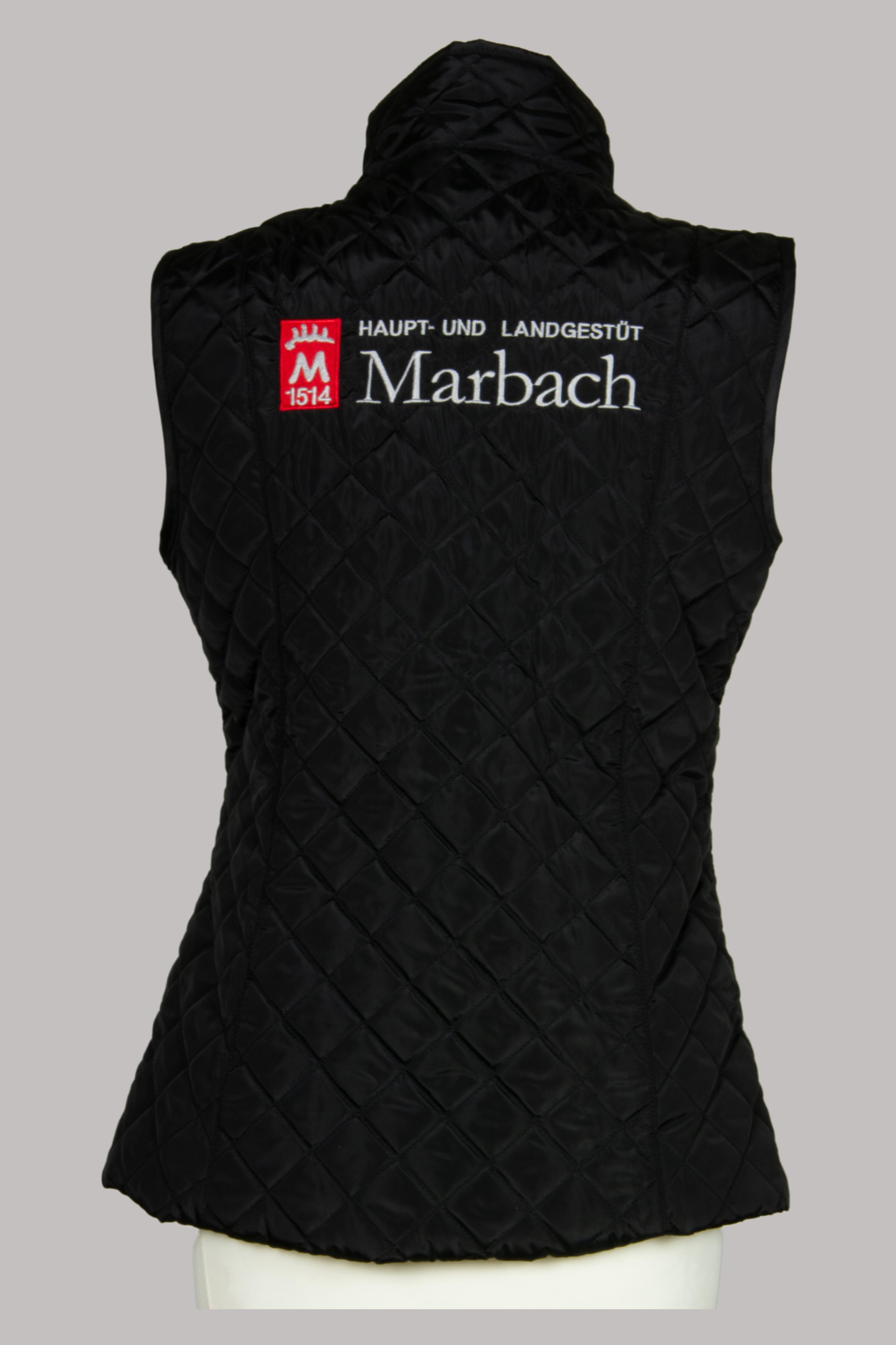 Marbach Weste Schwarz hinten