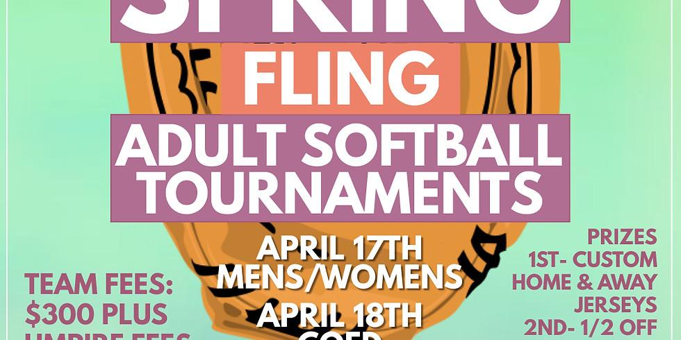 Spring Fling Adult Softball Tournaments