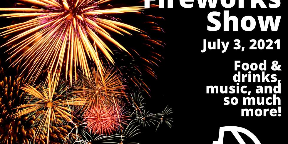 Granite Park Fireworks Show