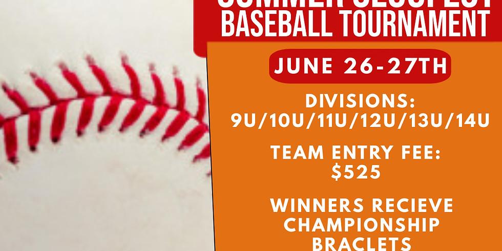 Summer Slugfest Baseball Tournament