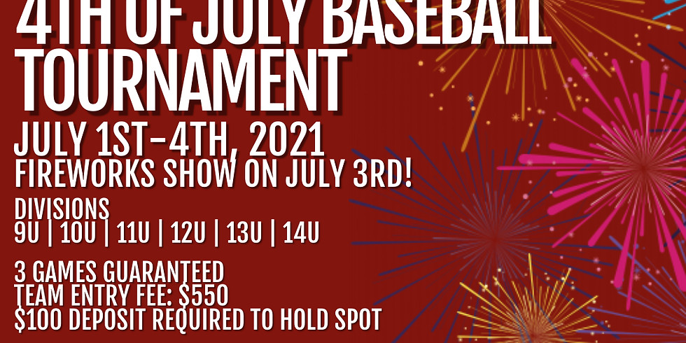 4th of July Baseball Tournament