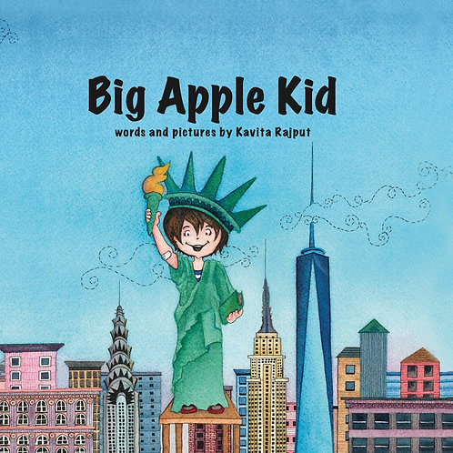Big Apple Kid picture book
