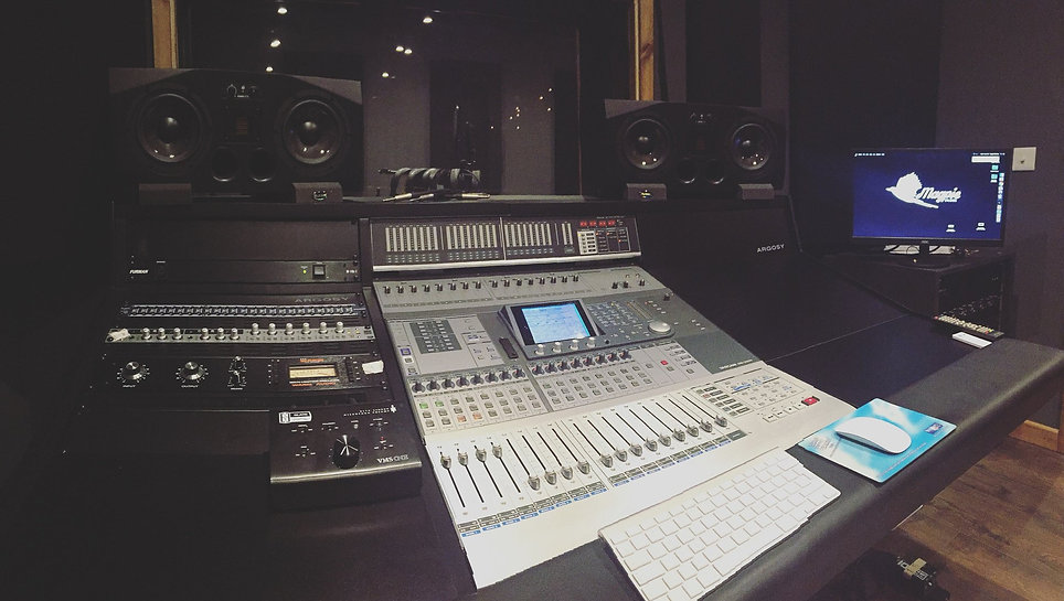 Magpie Music Management recording studio, Ashford, Kent, UK