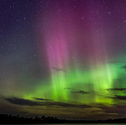 Northern Lights in Northern MN
