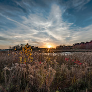 Sunset at Elm Creek