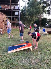 Paula Black & family 'Cornhole' game.jpg