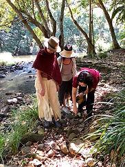 Ladies exploring creek.jpg