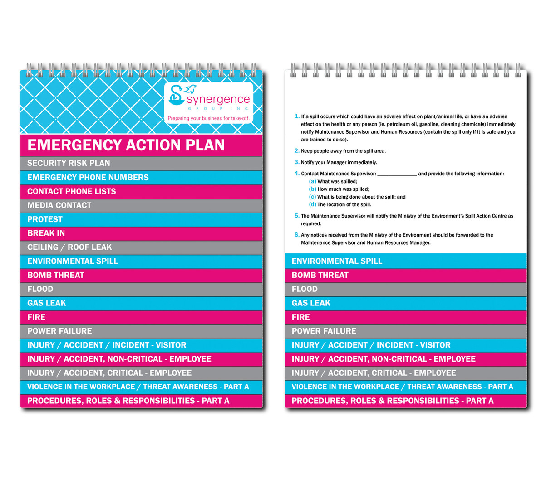 flip booklet