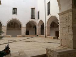 """ex convento dei """"paolotti"""" chiostro"""