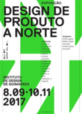 Cartaz da Exposição Design de Produto a Norte