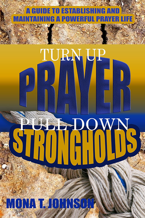Turn Up Prayer ... Book