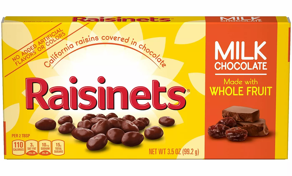 Candy - Raisinets