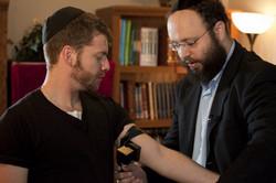 Me & Rabbi Zalman Wrappin'