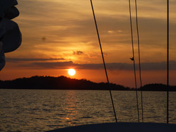 Sailing Decision sunsets