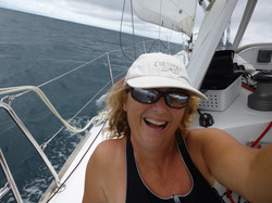 The thrill of sailing