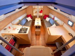 Salon from the companionway
