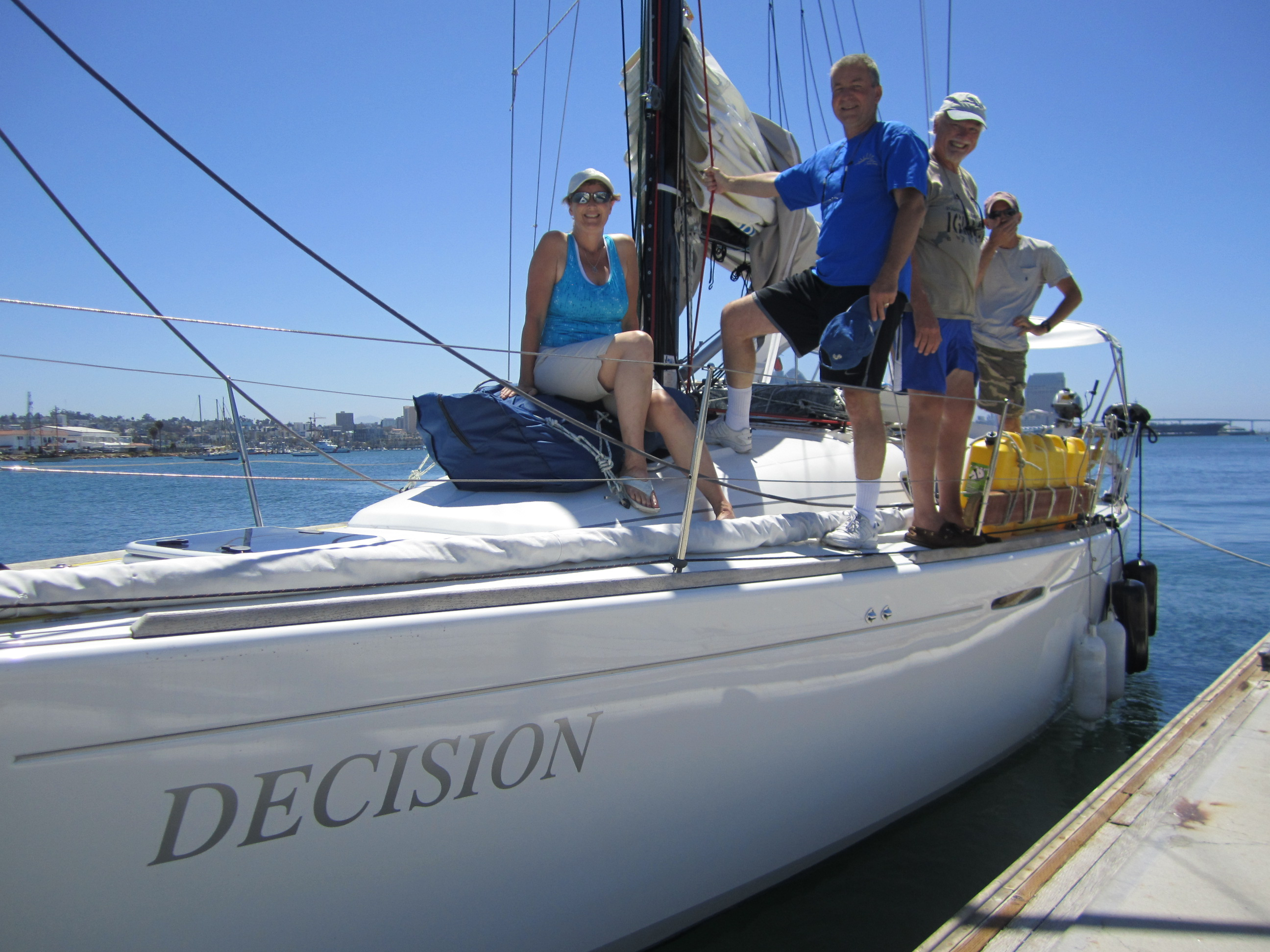 Sailing Decision as a group