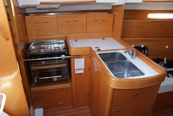 Beneteau galley