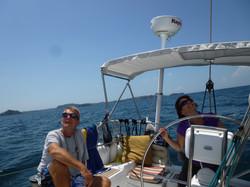 Sailing Decision Gulf of Chiriqui Panama