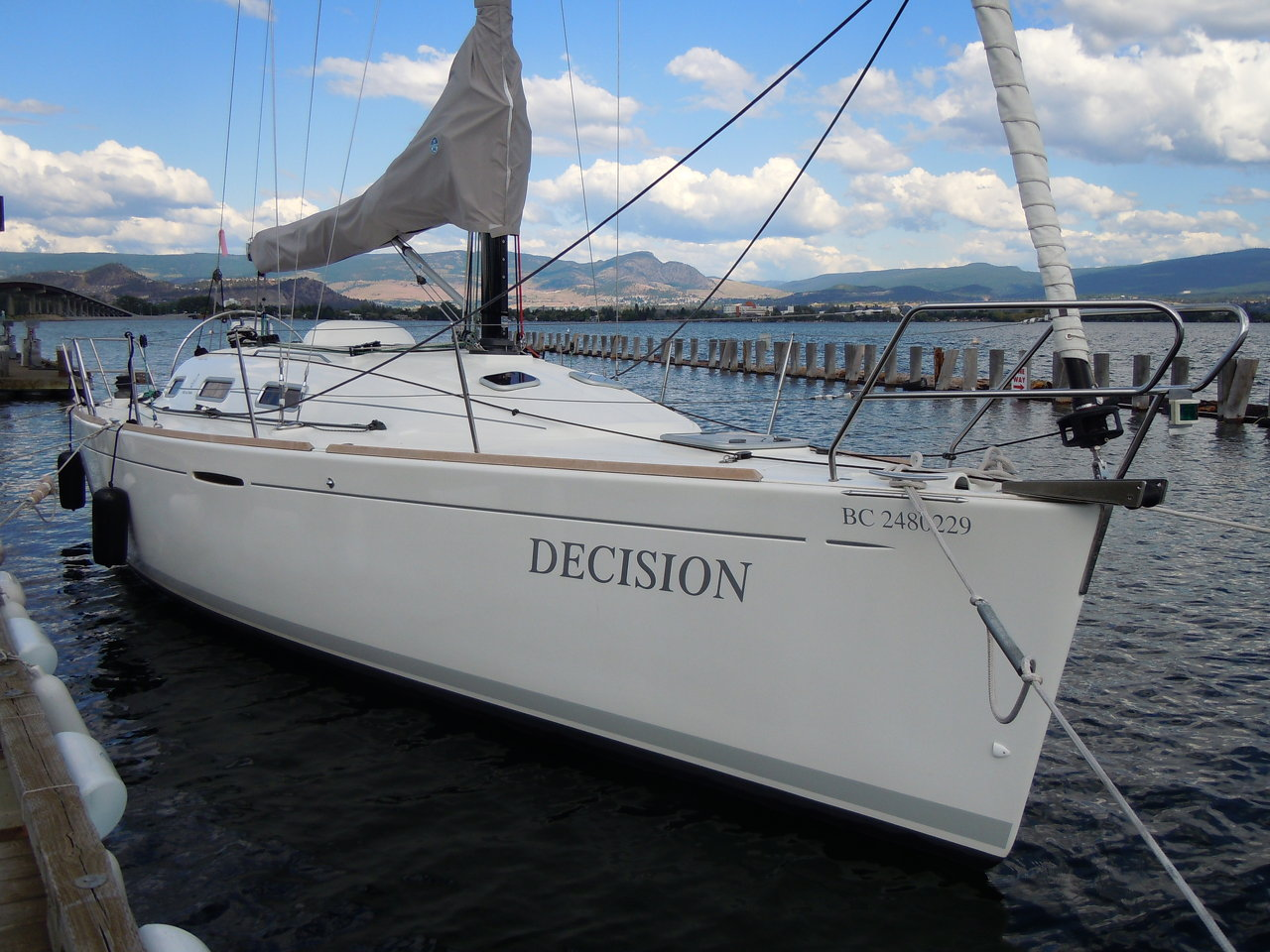Decision at dock