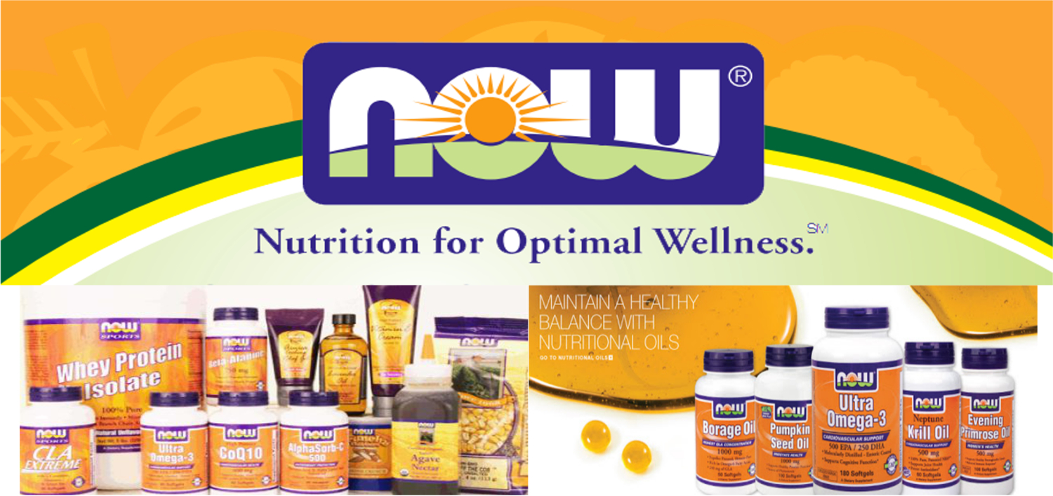 NOW Foods Supplements & Vitamins