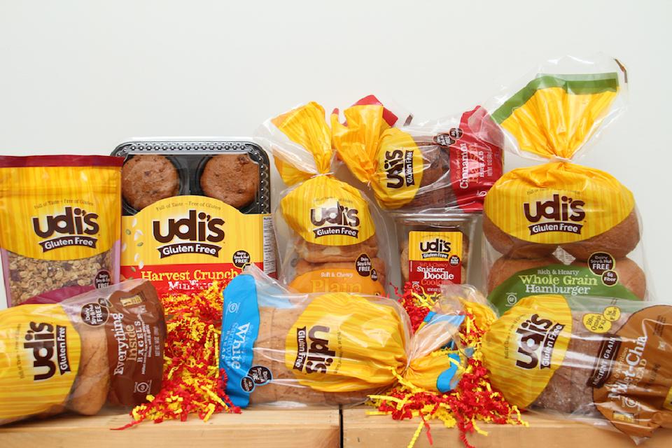 Udi's Gluten Free Bakery Goods