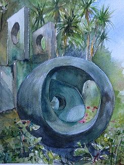 Barbara Hepworth Sculpture Garden.JPG
