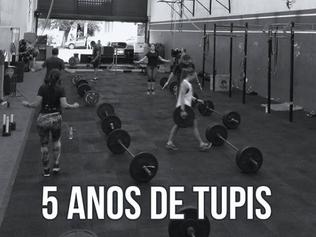 5 anos de TUPIS!