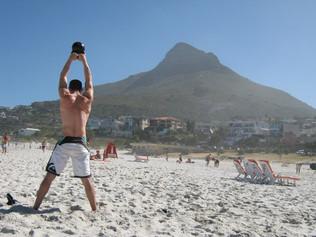 Faça CrossFit mesmo de férias!