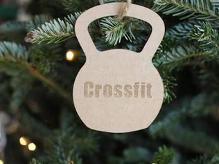 Árvore de Natal do CrossFit?