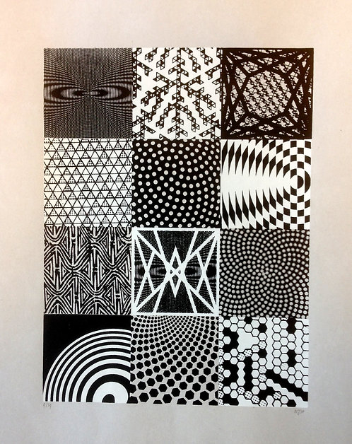 """Dots and Loops"" by Nick Alexander - Artist Proof"