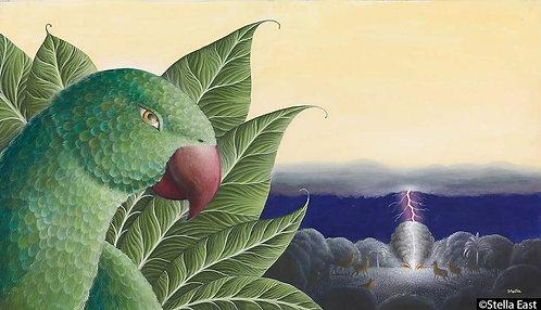 Buddha as a Parrot