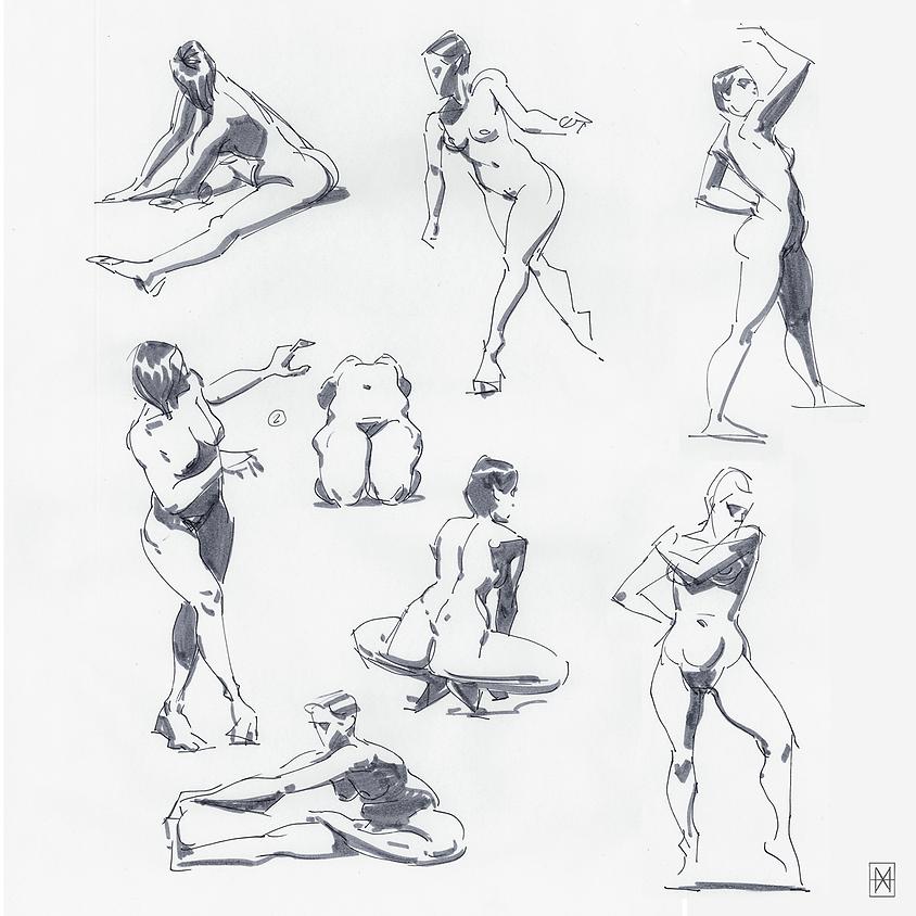 Beginners drawing - April 2020