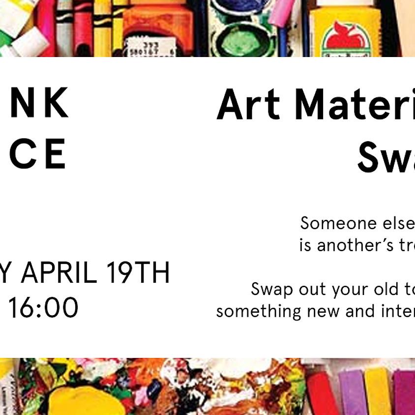 Art Materials Swap