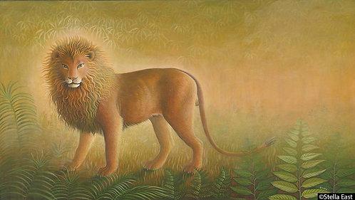 Buddha as a Lion