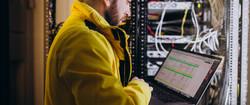 young-man-engineer-making-program-analyses