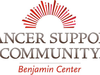 Face Off With Cancer Supports Cancer Support Community - Benjamin Center