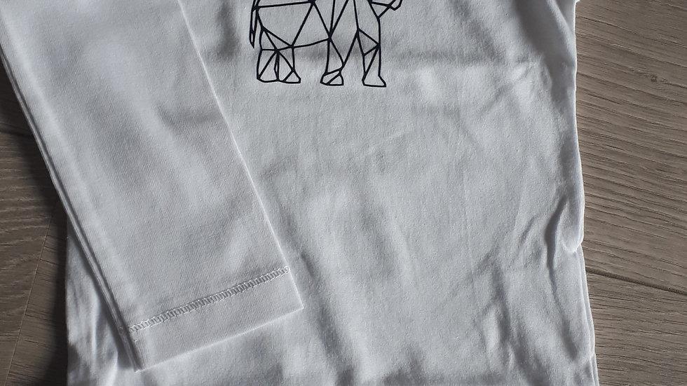Romper olifant grafisch