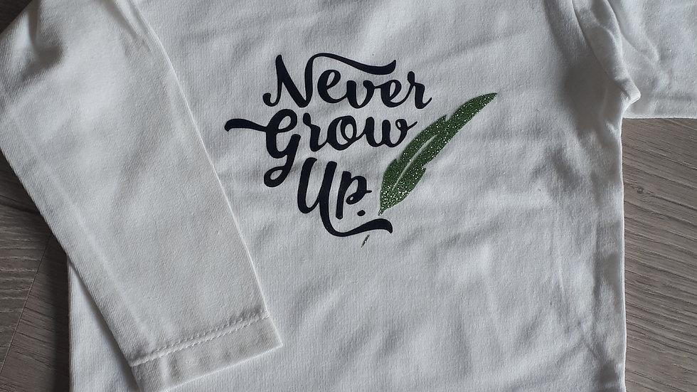 T-shirt 'Never Grow up'