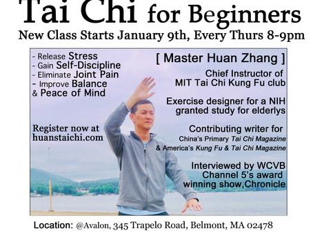 Tai Chi program starts January 9th