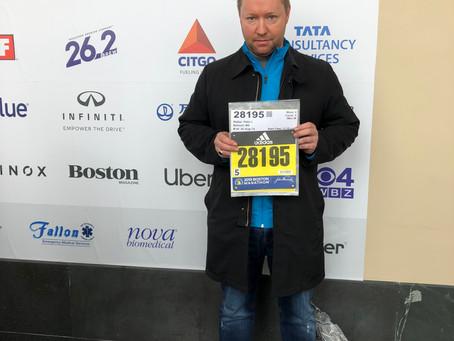 Boston Marathon run and help raise for the Pancreatic Cancer Network Foundation