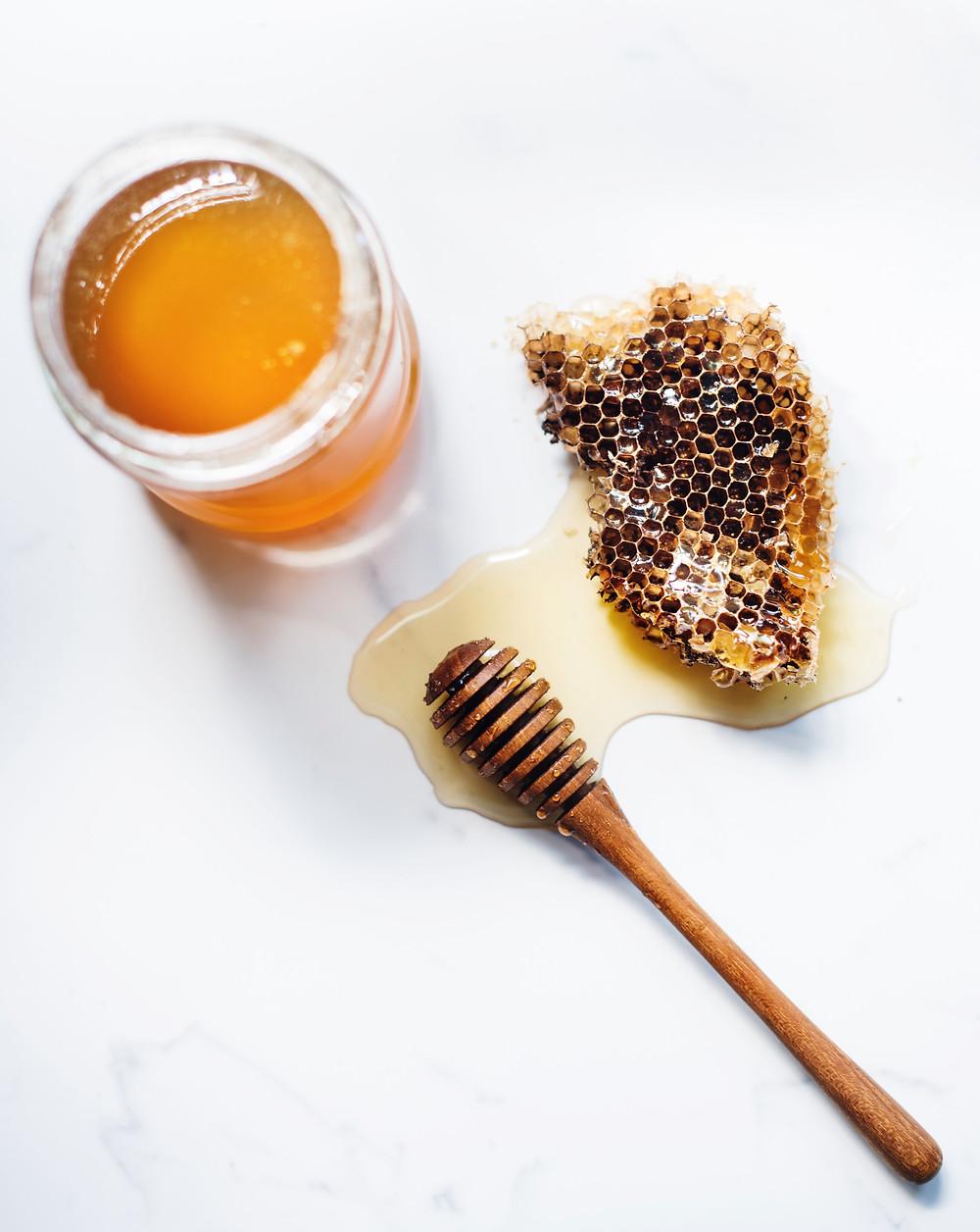 Beauty at the Lake Honeycomb