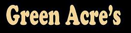Green Acre's Logo